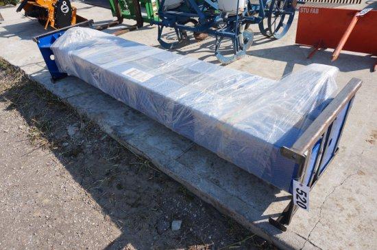 NEW / UNUSED Heavy Duty 2-post bottom plater car lift,