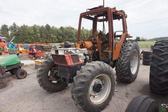 Case International diesel tractor