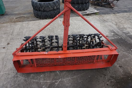 Pull-type crow foot packer