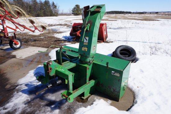 John Deere 676 Snow Blower