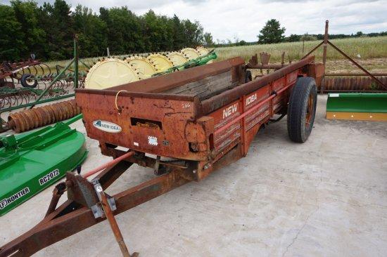 New Idea 217 towable manure spreader