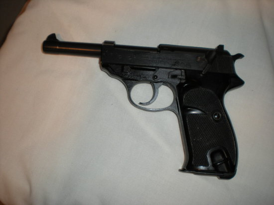 CARL WALTHER P38 9MM SER 128302