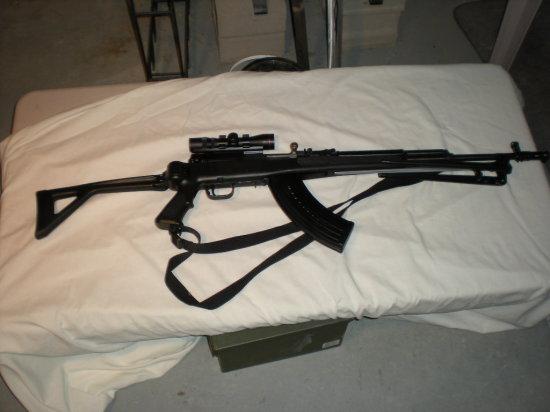 Chinese AK 47 W/SIMMONS SCOPE SER.TRIGGER & BOLT SER 22222 FRAME SER 11122