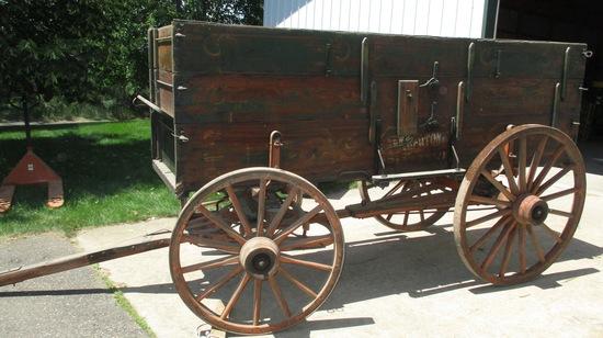 Stoughton Grain Wagon Excellent Condition