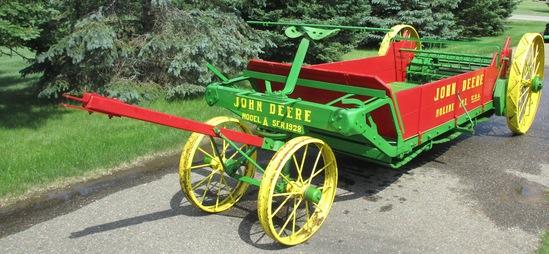 John Deere Model A Manure Spreader Nicely Restored ser.1928