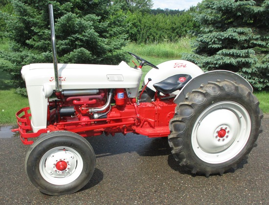 Ford Golden Jubilee 1954 Immaculate Condition Nice Running Tractor ser. 95483