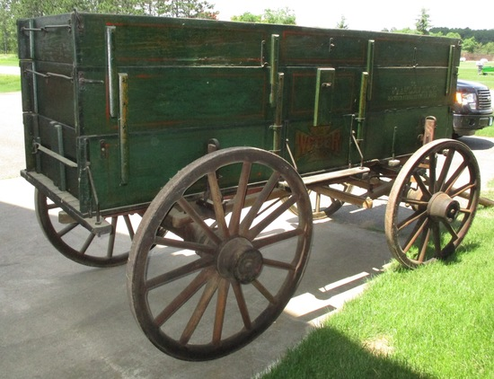 IH Weber Grain Wagon Excellent Condition (has neat article & pictures)