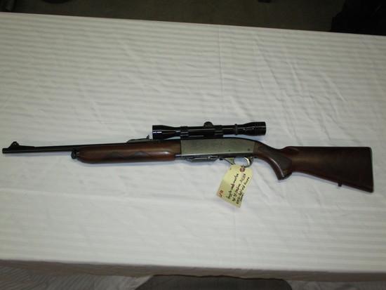 Remington Woodsmaster model 742 30-06 w/redfield scope ser.84936