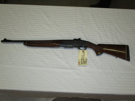 Remington Woodsmaster model 742 carbine 30-06 with peep sight ser. B7230168
