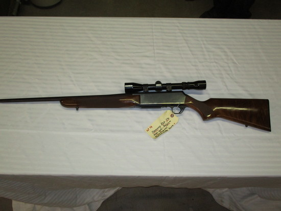 Browning BAR .270 semi auto made in Belgium Redfield lo pro scope ser. 137PT08256