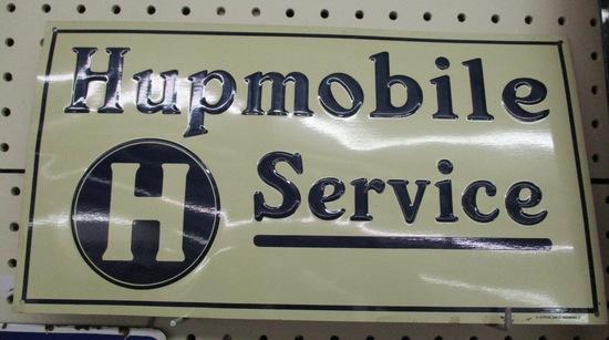 Hupmobile Sign Tin