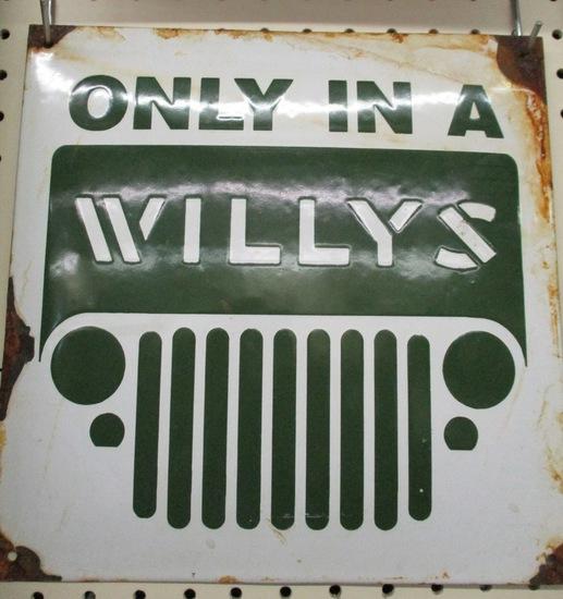 Willy's Dealership Sign Original