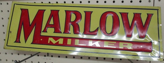 Marlow Milker New York Red on Yellow (rare)