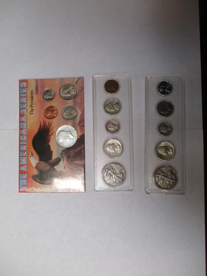 Coin sets - 3 sets