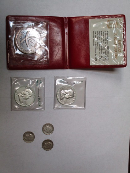 Misc. silver coinage