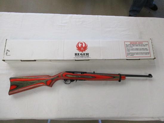 Ruger 10/22 Red Laminate .22 LR ser. 82462673