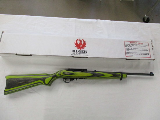 Ruger 10/22 Green Laminate .22LR ser. 359-34852