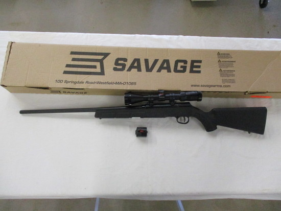Savage A22 .22 LR w/Scope & Extra Mag LNIB ser. K431516