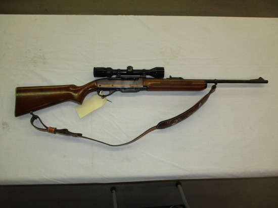 Remington Woodsmaster 742 semi auto .308 w/scope ser. 98786