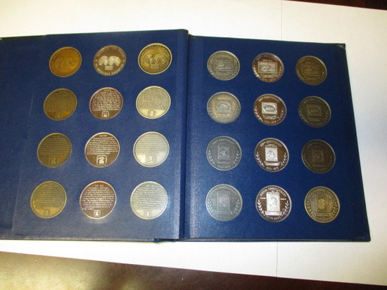 US Postal History Medals Full Set