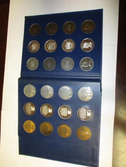 Bicentennial Commemorative Medallians variety of metal