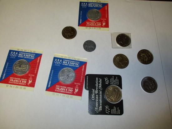 Variety of Coins & Medals (grab bag)