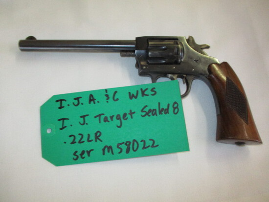 I.J.A & C WKS I.J. Target Sealed 8 .22 ser. M58022