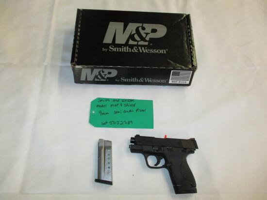 Smith & Wesson M&P 9 Shield 9MM Semi Auto ser. JDJ2789