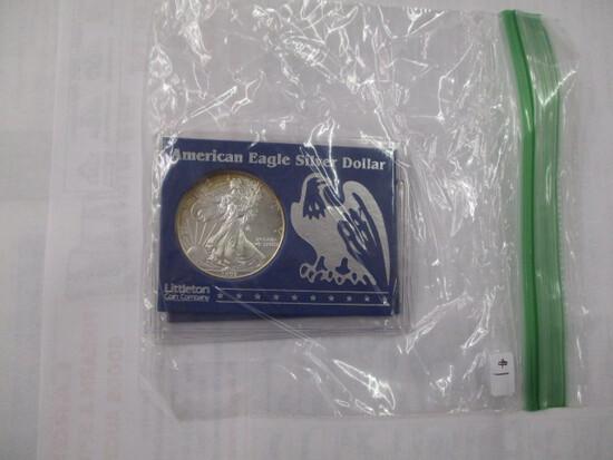 American Eagle 1 ounce Silver Dollar 1997-2