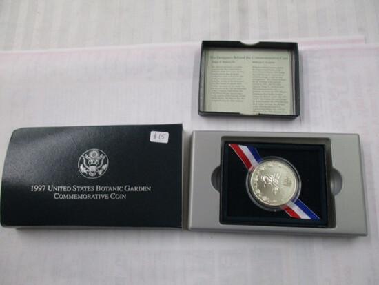 U.S. Botanic Garden Comm. Coin UNC. Silver $1.00