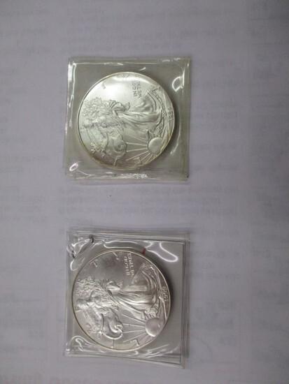 American Eagle 1 ounce Silver Dollar 1999-2
