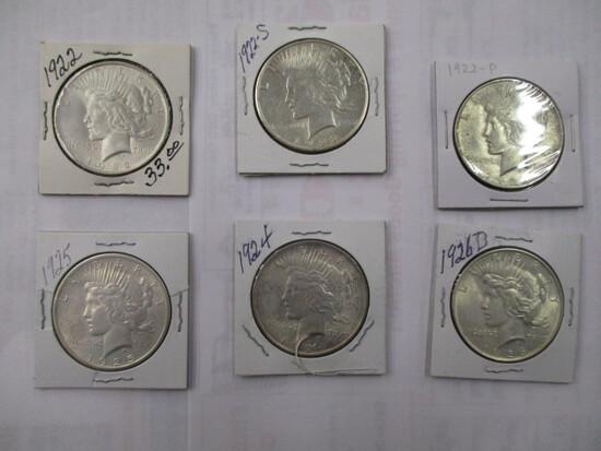 Peace Dollars Various Dates/Mints