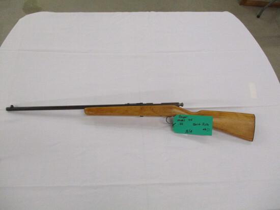 Ranger model 35 single shot bolt action ser. N/A