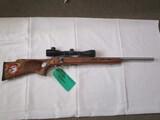 Savage model 93R17 .17 HMR bolt action w/thumb hole stock  ser. 2168608