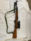 7.62x39 SKS w/bayonet, bipod & scope ser. 13692