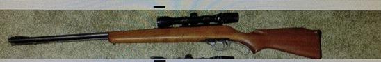 J.C. Higgins model 44DLM lever action .22 magnum tube feed w/bushnell scope chief 3x9 ser. N/A