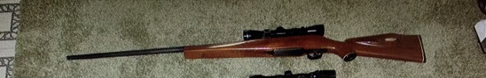 Custom built model of 1917 Eddystone original rust proof barrel 30-06 w/Luepold scope ser. N/A