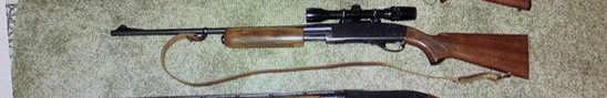 Remington Gamemaster 760 .308 pump w/Bushnell Scope Chief ser. 427465