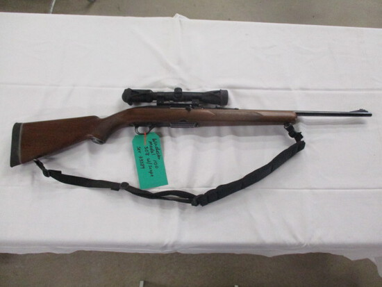 Winchester model 100 semi auto .308 w/clip & Pentax scope ser. 33389