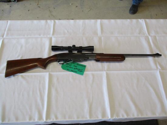 Remington Gamemaster 760 .35 rem w/bushnell scope ser. 206541