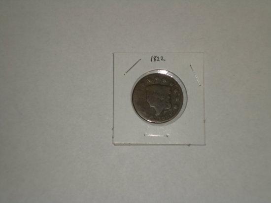 U.S. Large Cent - 1822