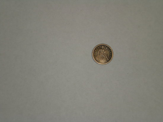 1853-O Seated 10 Cent (date difficult to see)
