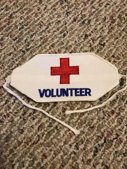 Vintage American Red Cross Disaster Relief Volunteer