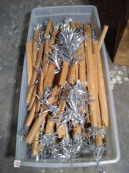 Antique Aluminum Pom Pom Tree