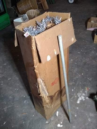 Antique Aluminum Pom Pom Tree with Original Box