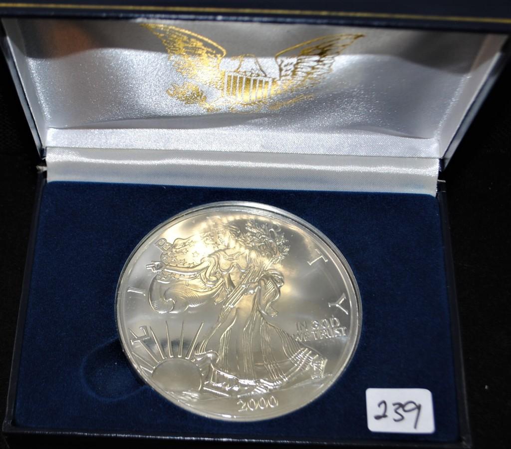 2000 Half Troy Pound Fine Silver Liberty Coin