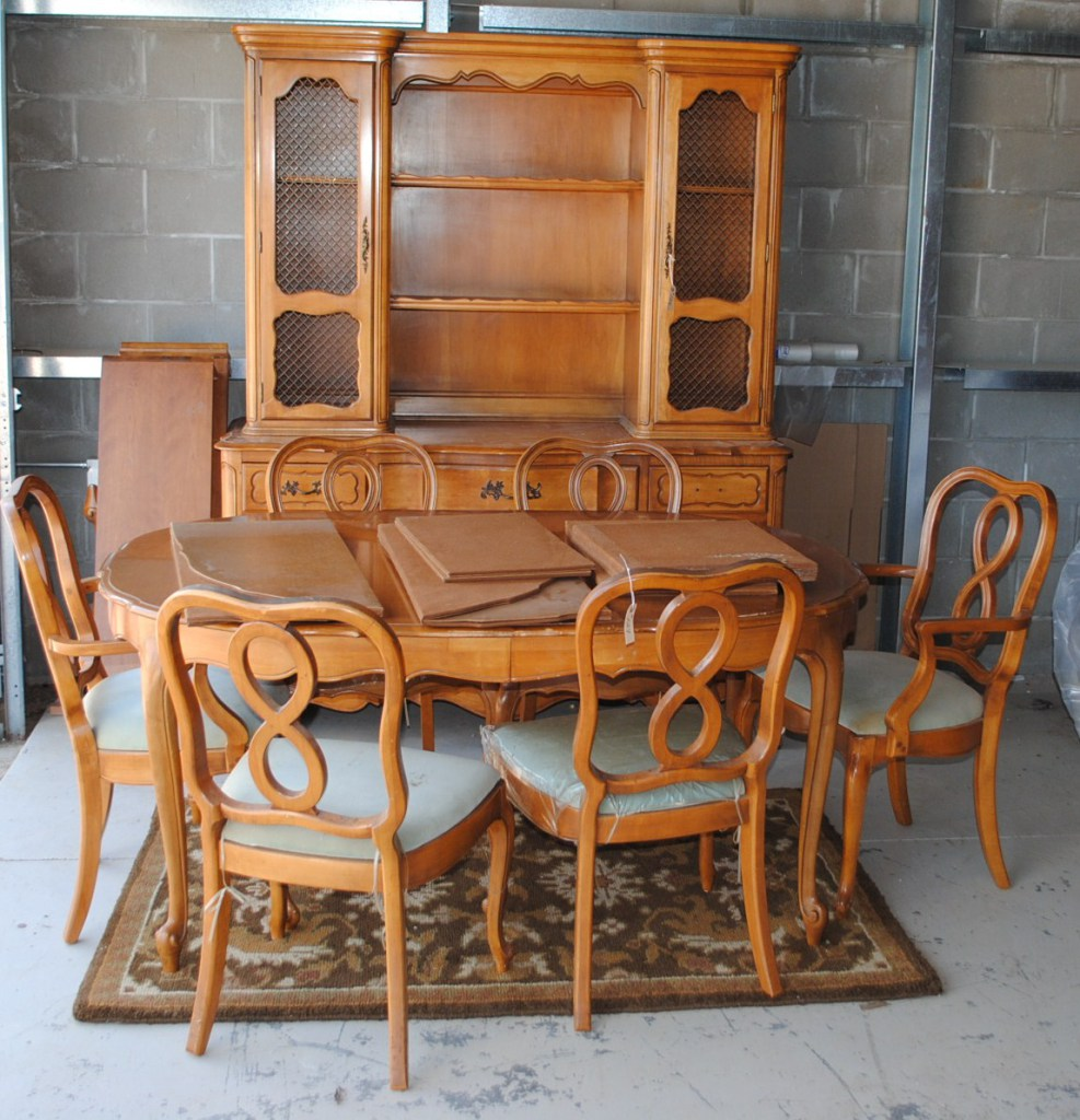 French Dining Room Set: RETRO (1960'S) FRENCH PROVINCI... Auctions Online