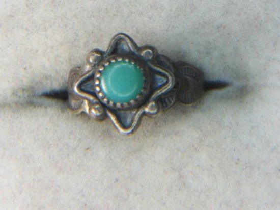 .925 Native American Turquoise Ring
