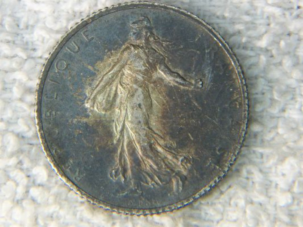 1919 France 1 Franc World War I Era