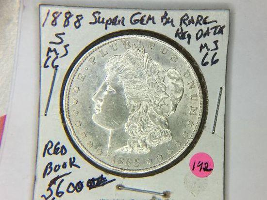 1888 S Morgan Dollar
